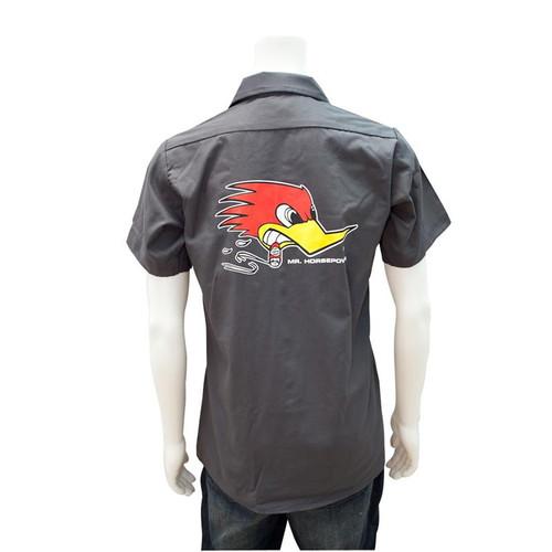 Mr. Horsepower Charcoal Work Shirt