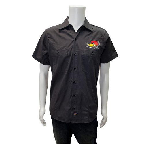 Mr. Horsepower Charcoal Work Shirt