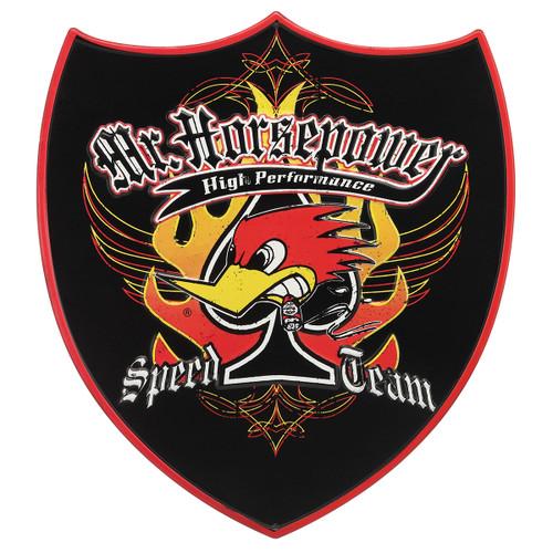Mr Horsepower Speed Team Metal Sign