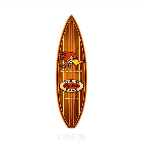 Genuine Clay Smith Cams Surfboard