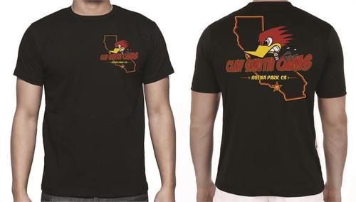 "Clay Smith ""California"" Black T-Shirt"