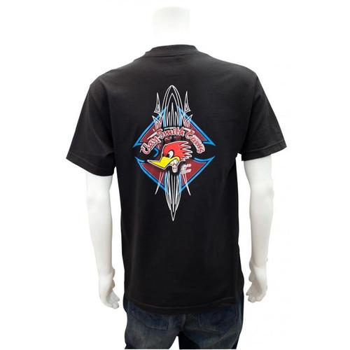 Toddler / Youth Black T-Shirt Tribal Design