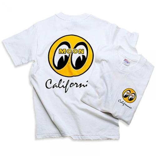 Mooneyes T-Shirt - White California