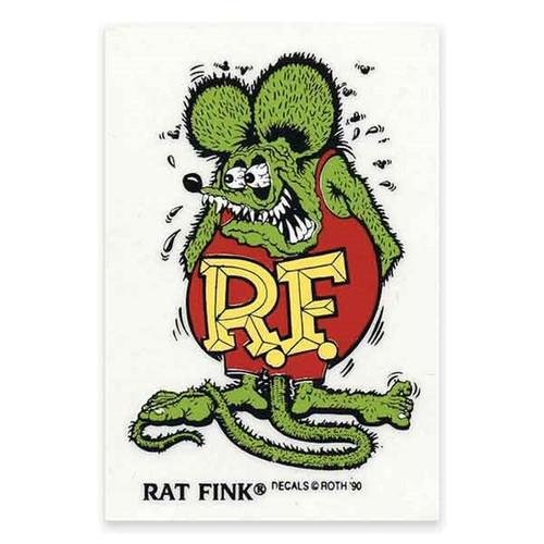 Rat Fink Sticker - Small - Green