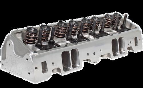 AFR Small Block Chevrolet 195cc Fully CNC Chambers, 65cc, Street Heads, L98  Angle Plug w/heat riser Assembled w/ Hydraulic Roller Set up