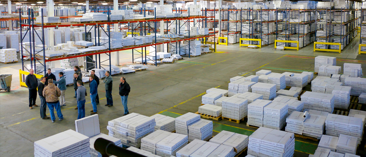 LARGE PRODUCT INVENTORY