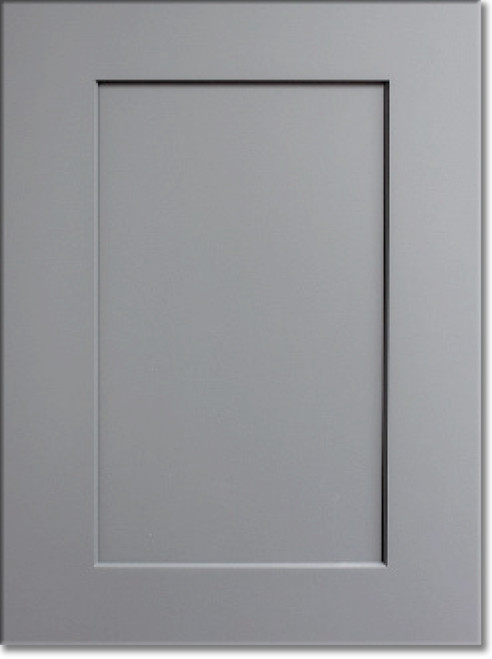 Display Door Summit Platinum Shaker Kraftsman Cabinetry