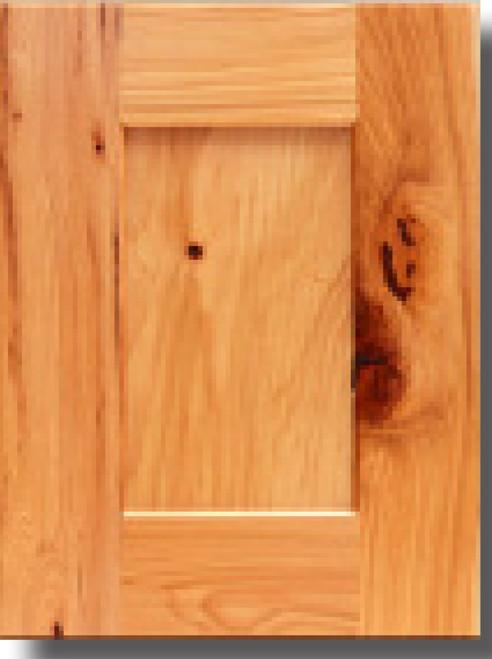 Hickory Shaker Display Door Kraftsman Cabinetry