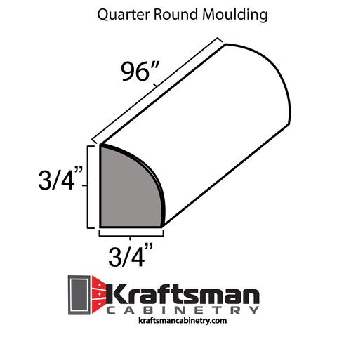 Quarter Round Moulding Java Shaker Kraftsman Cabinetry