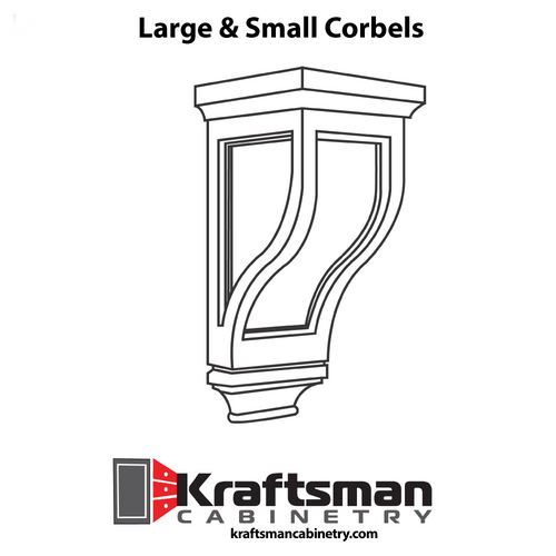Corbel Winchester Grey Kraftsman Cabinetry