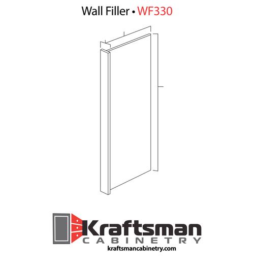 Wall Filler Winchester Grey Kraftsman Cabinetry