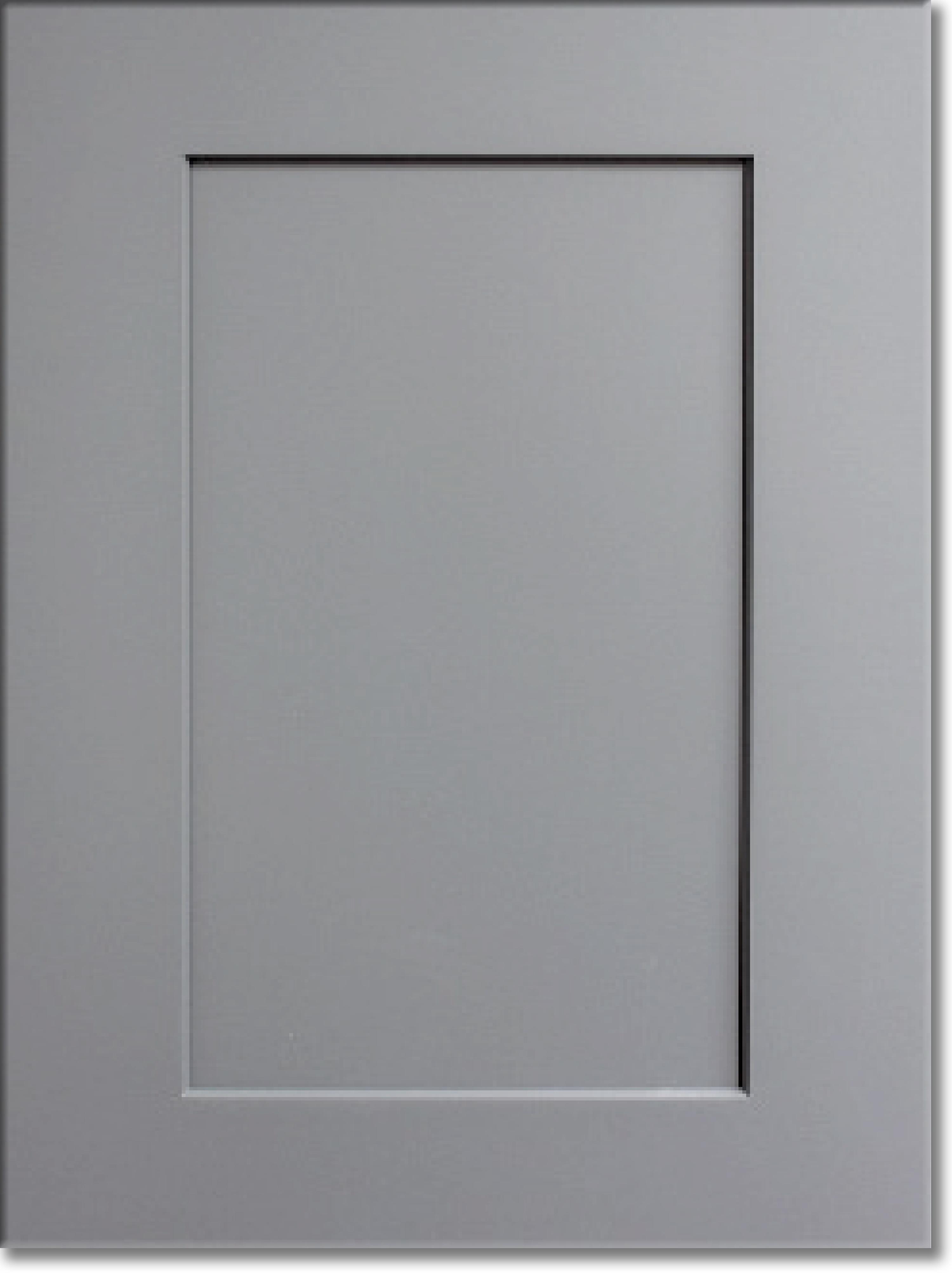 Summit Platinum Shaker RTA Cabinet Display Door