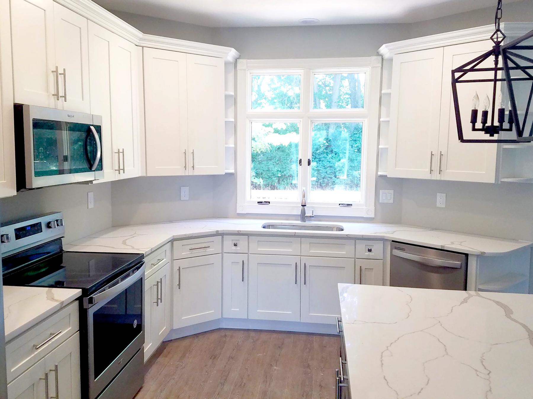 Summit White Shaker Kitchen