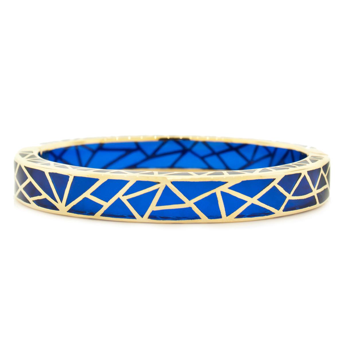 Andrew Hamilton Crawford Bracelet Kaleidoscope Sapphire and Gold
