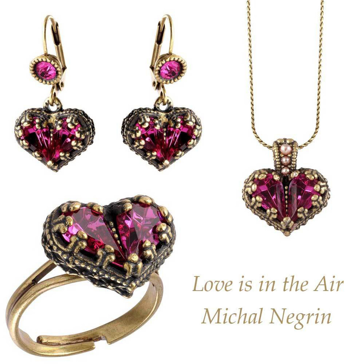 Michal Negrin Love is in the Air Set