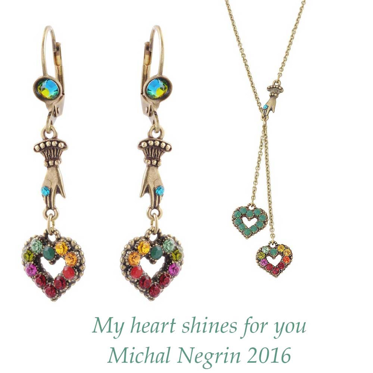 Michal Negrin My Heart Shines for you Set