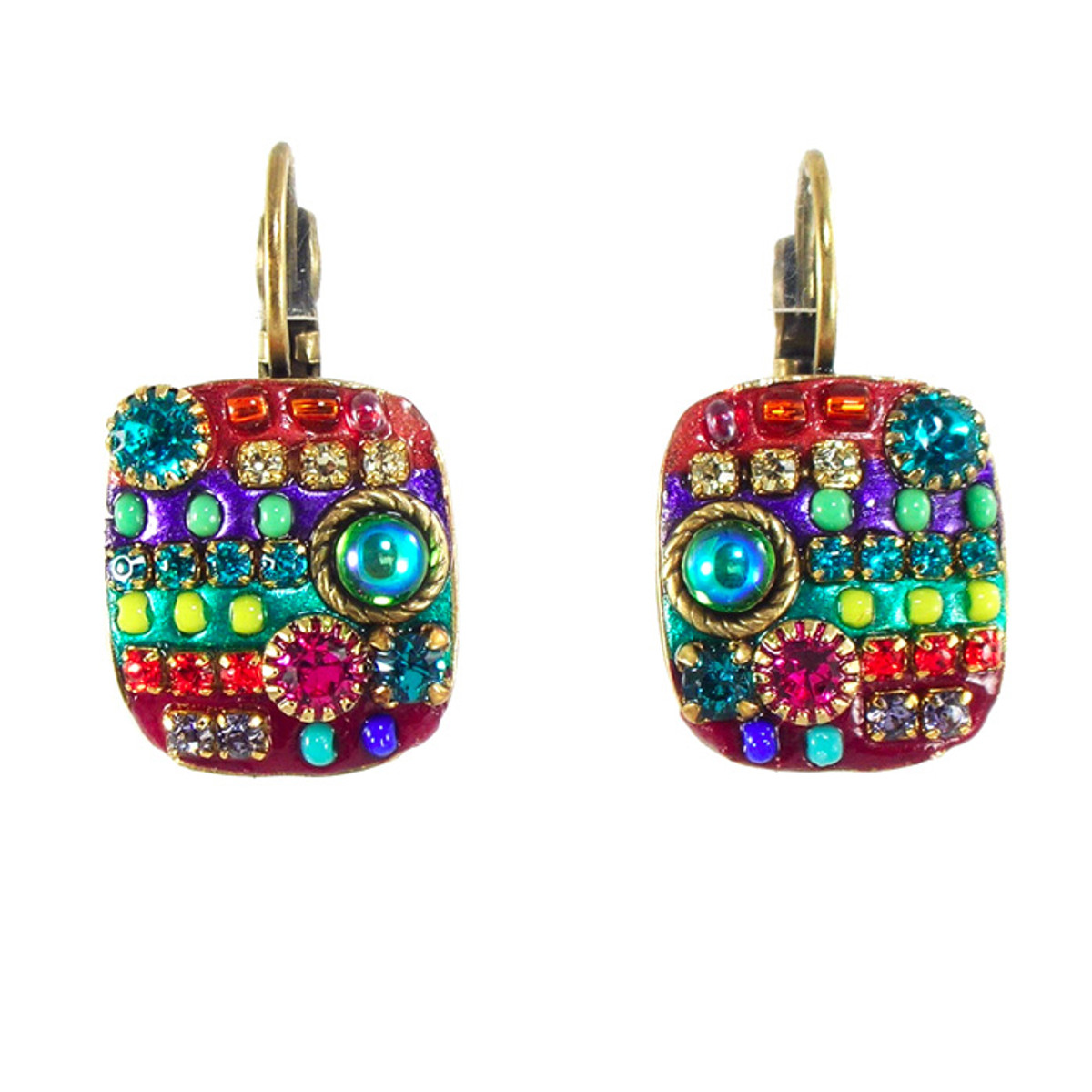 Michal Golan Earrings - Multibright  square