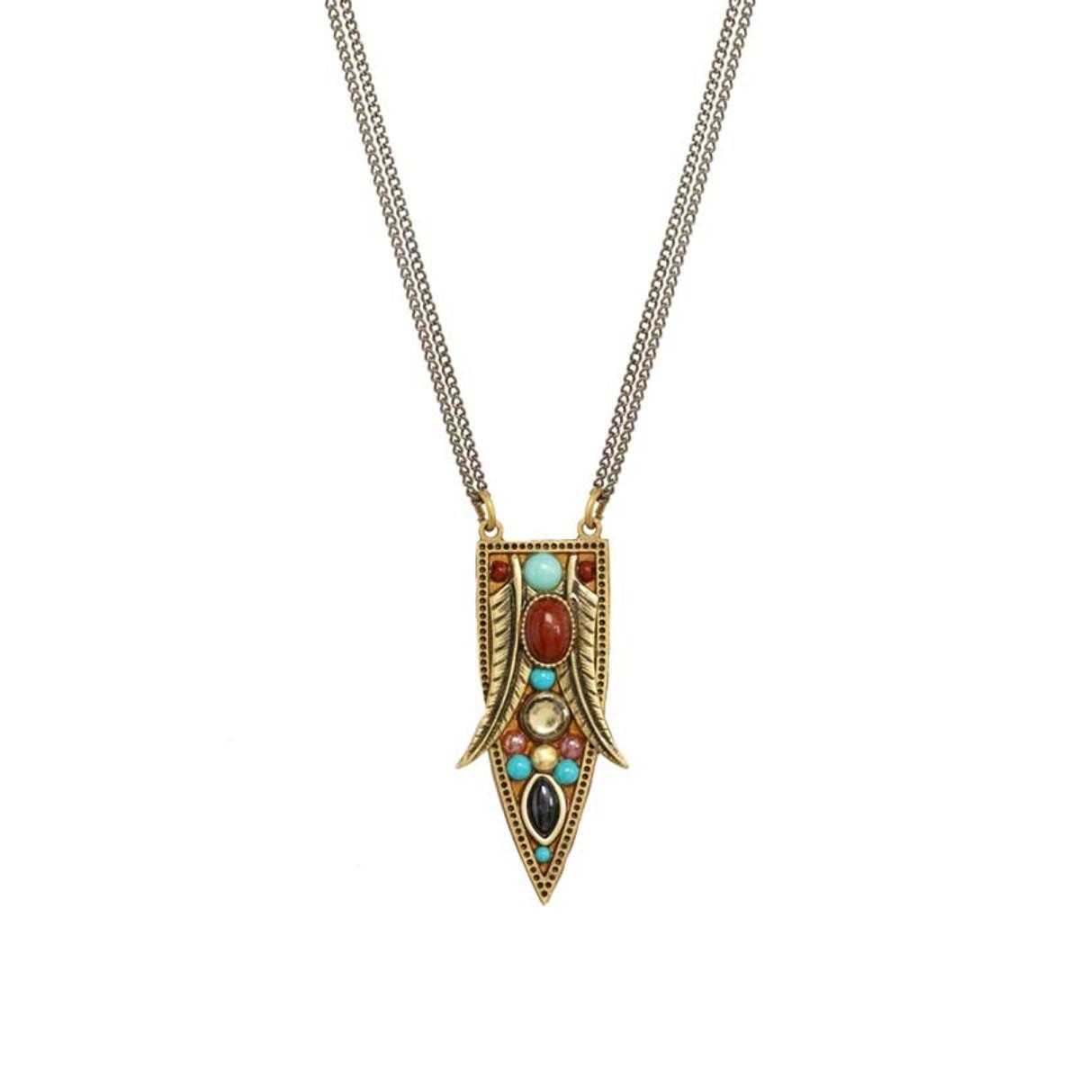 Gold Michal Golan Southwest Necklace