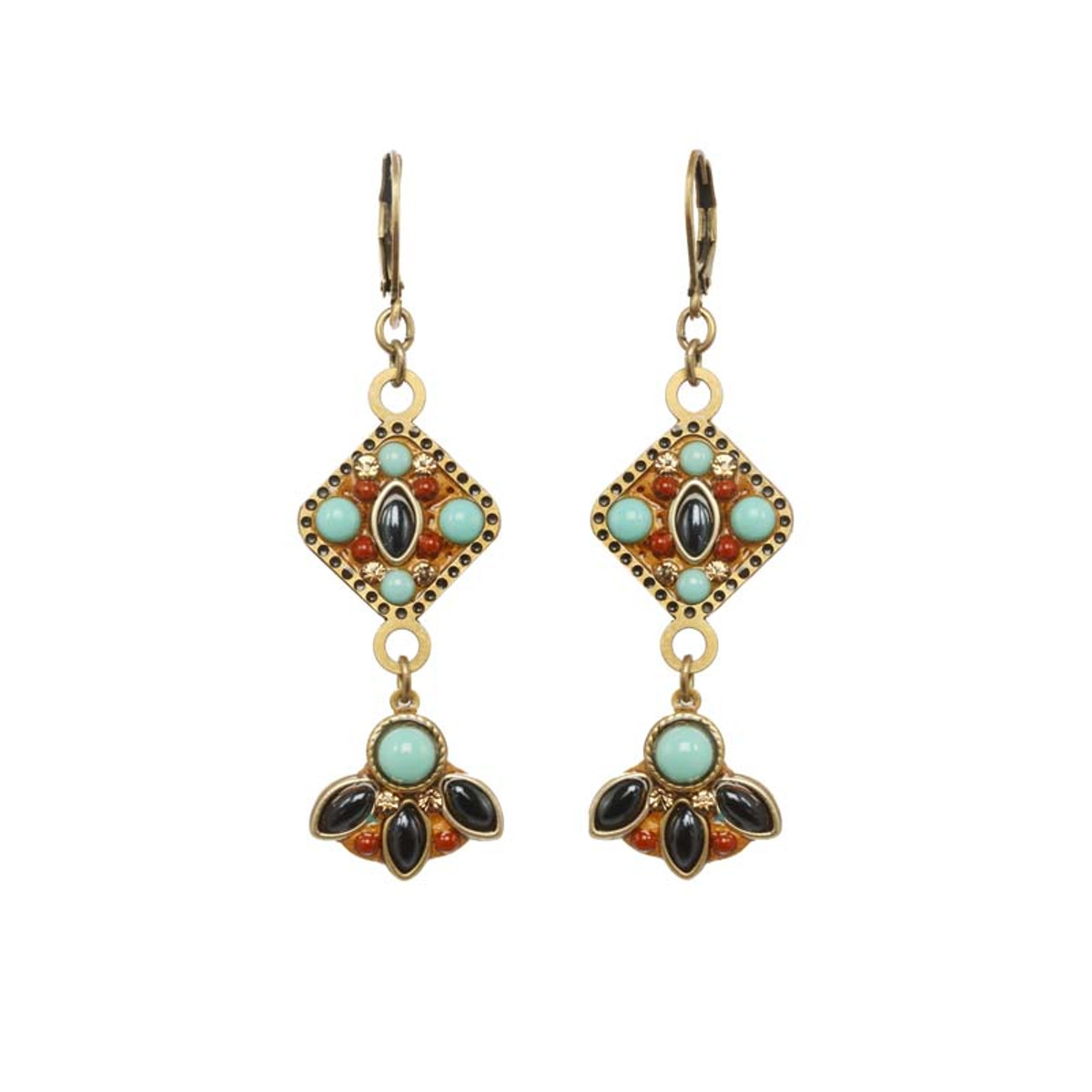 Michal Golan Jewellery Southwest Gold Earrings