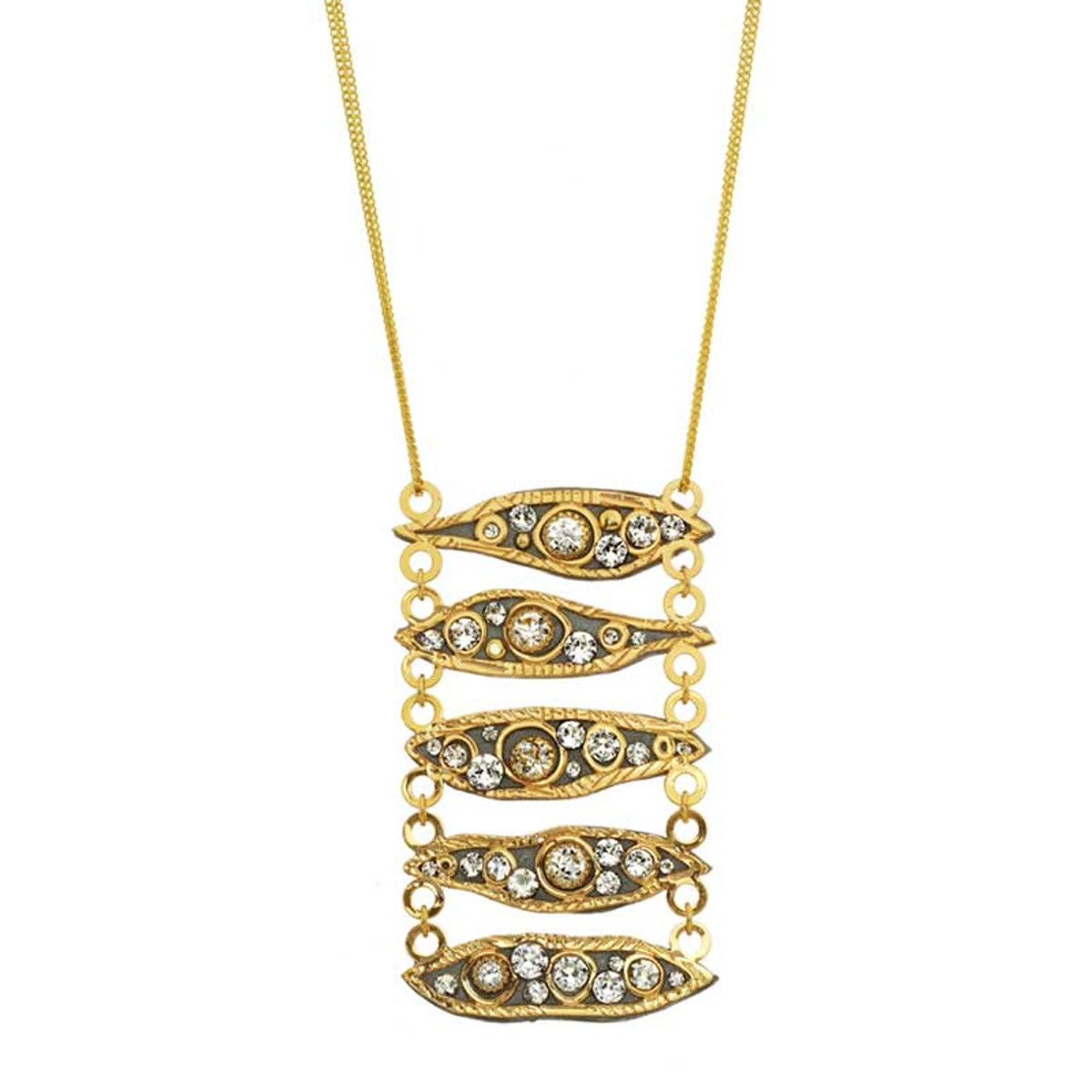 Michal Golan Icicle Necklaces Gold