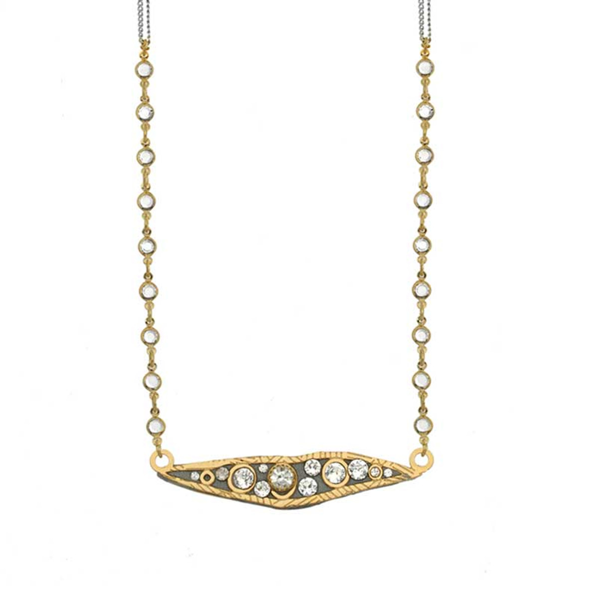 Gold Michal Golan Icicle Necklaces