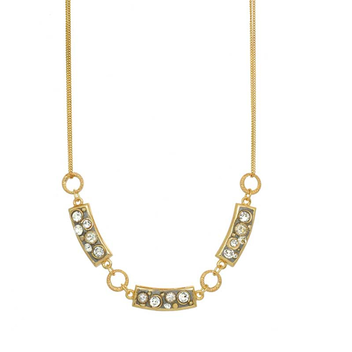 Michal Golan Gold Icicle Necklaces
