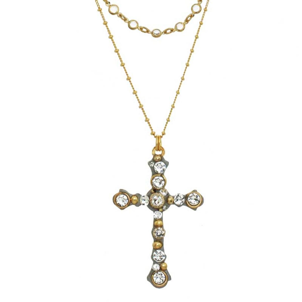 Gold Michal Golan Jewelry Icicle Style Necklaces