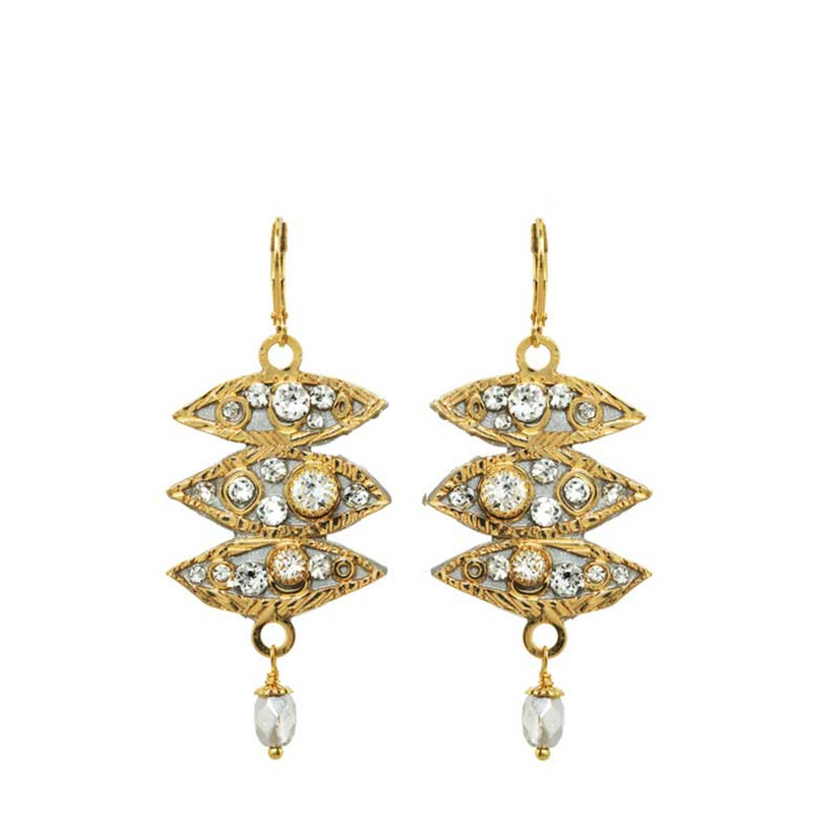 Icicle earrings by Michal Golan Jewelry