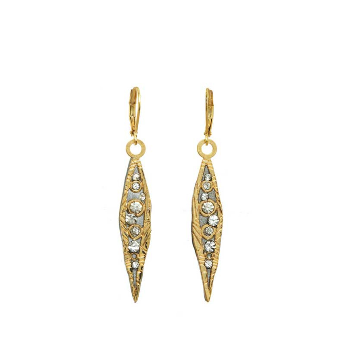 Gold Michal Golan Jewelry Icicle Earrings