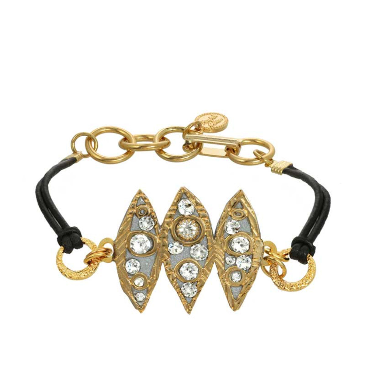 Gold Icicle bracelet from Michal Golan Jewelry