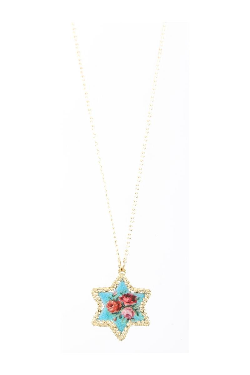 Star of  David Pendant By Michal Negrin