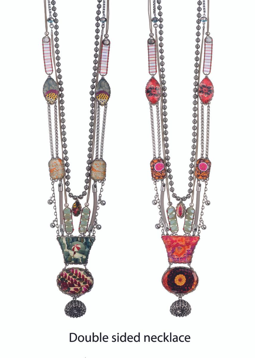 Ayala Bar Seaside at Twilight Flying Colors Double-sided Necklace