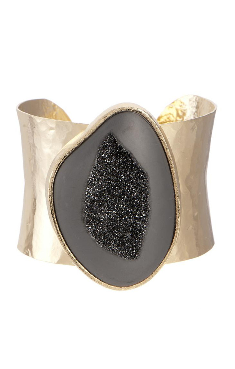 Black Marcia Moran Cuffs Brence Bracelet