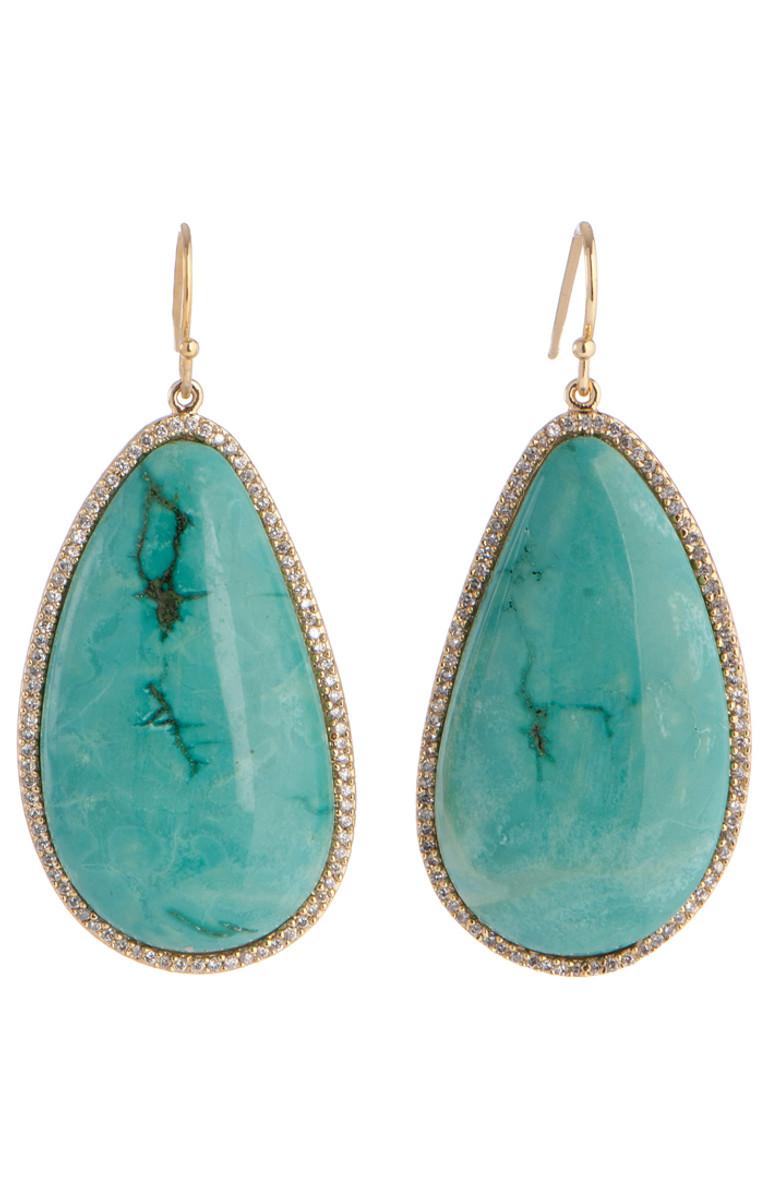Marcia Moran Mirabelle Turqoise Earrings earrings from Marcia Moran Jewelry
