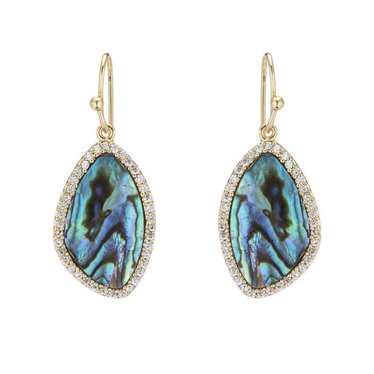 Marcia Moran Jewelry Lilly Blue Earrings