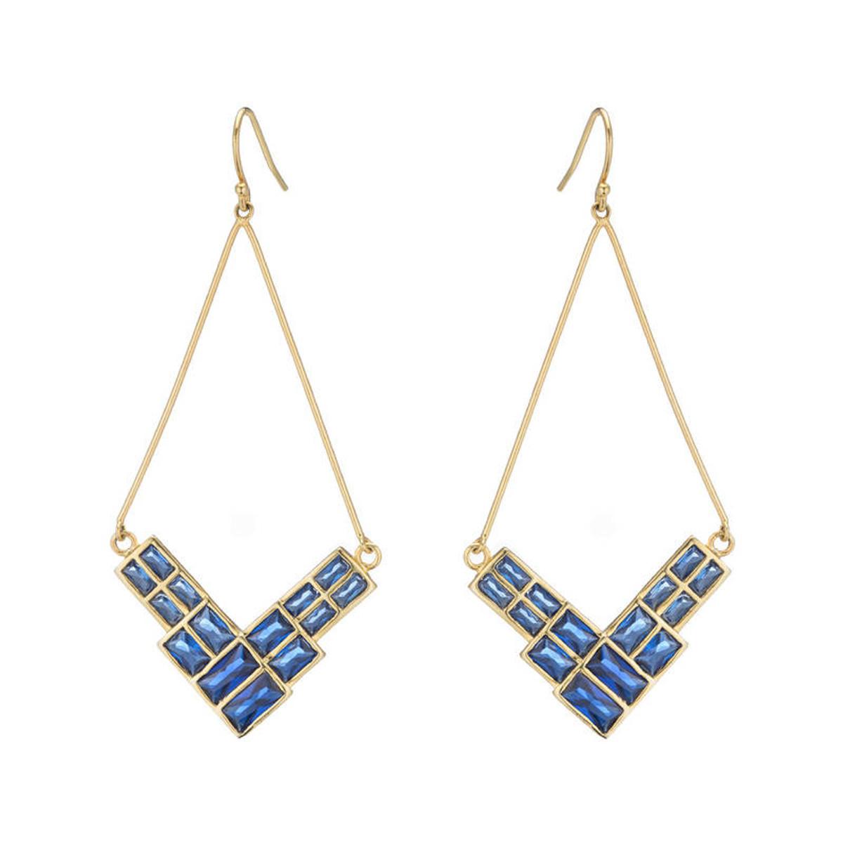 Violette earrings from Marcia Moran Jewelry