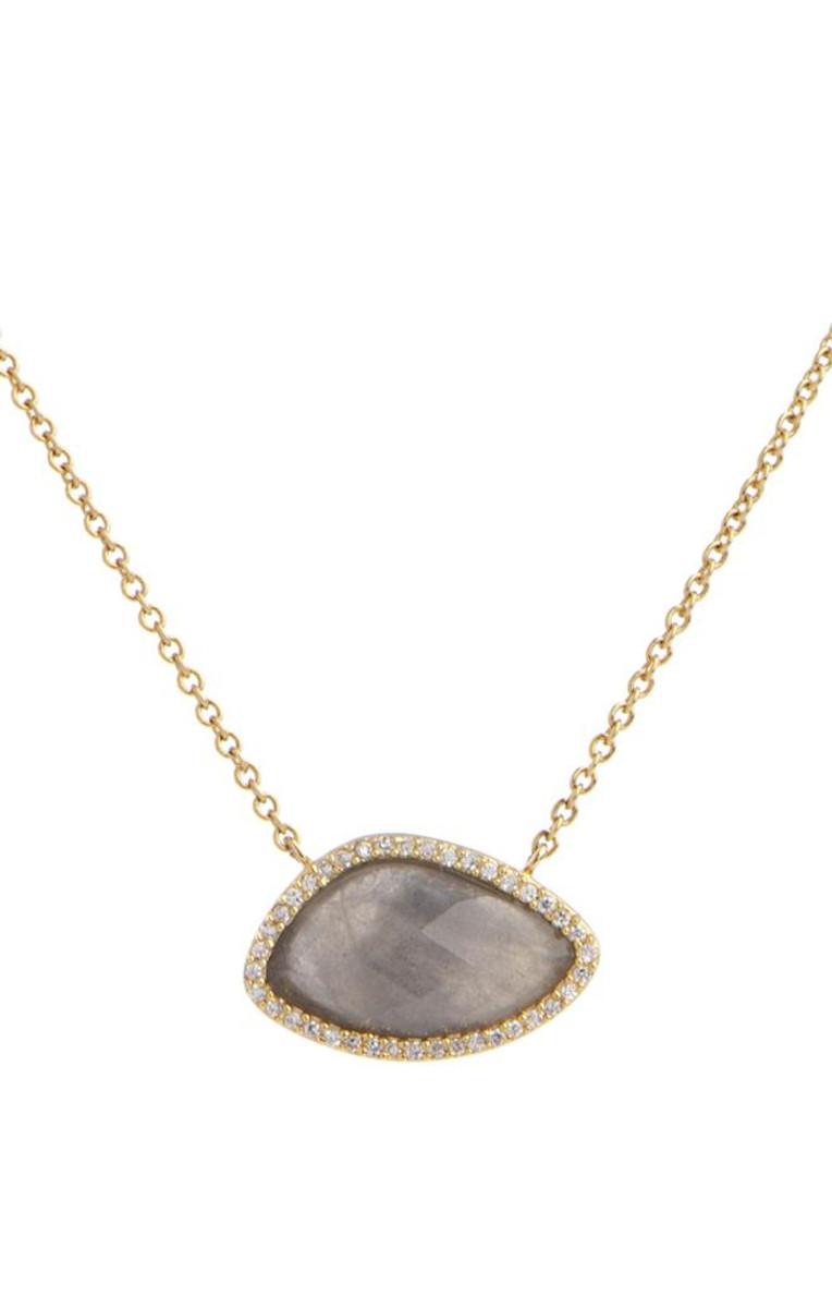 Grey Marcia Moran Jewelry Valencia Necklace