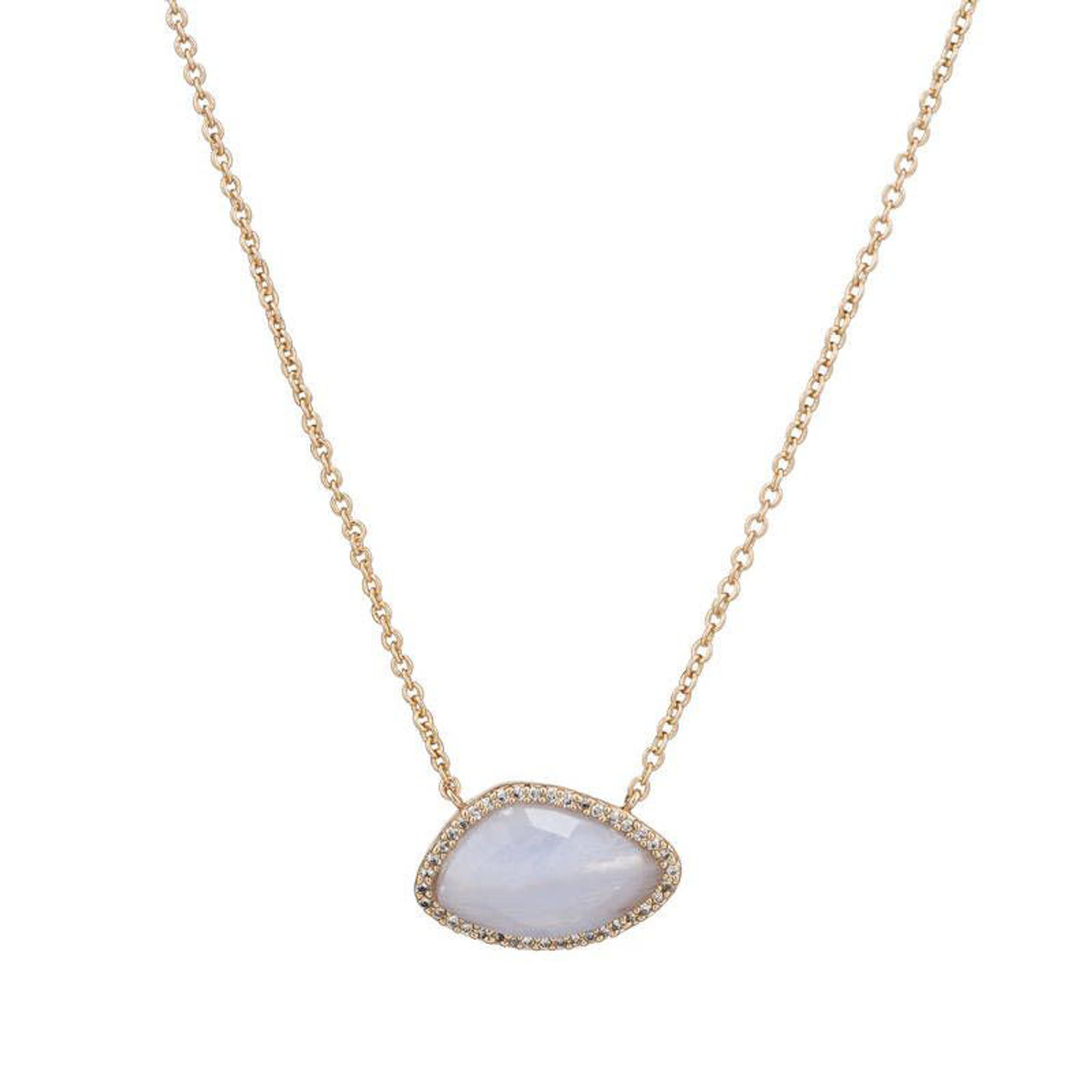 Blue Valencia necklace by Marcia Moran Jewelry