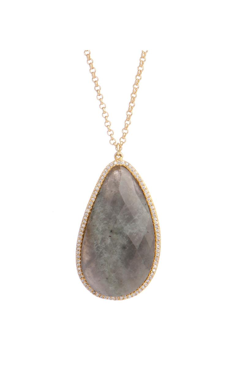Marcia Moran Jewelry Trent Grey Necklace