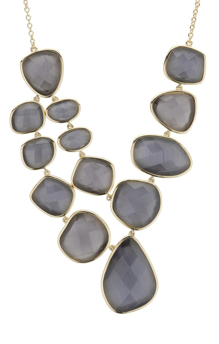 Grey Marcia Moran Jewelry Steller Style Necklace