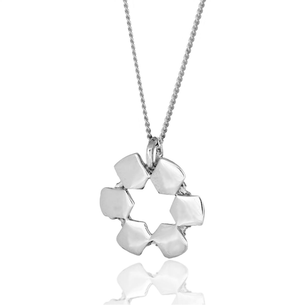 Haari Kabbalah Jewellery HaAri Jewelry opposite merkava Silver pendant Silver Pendant