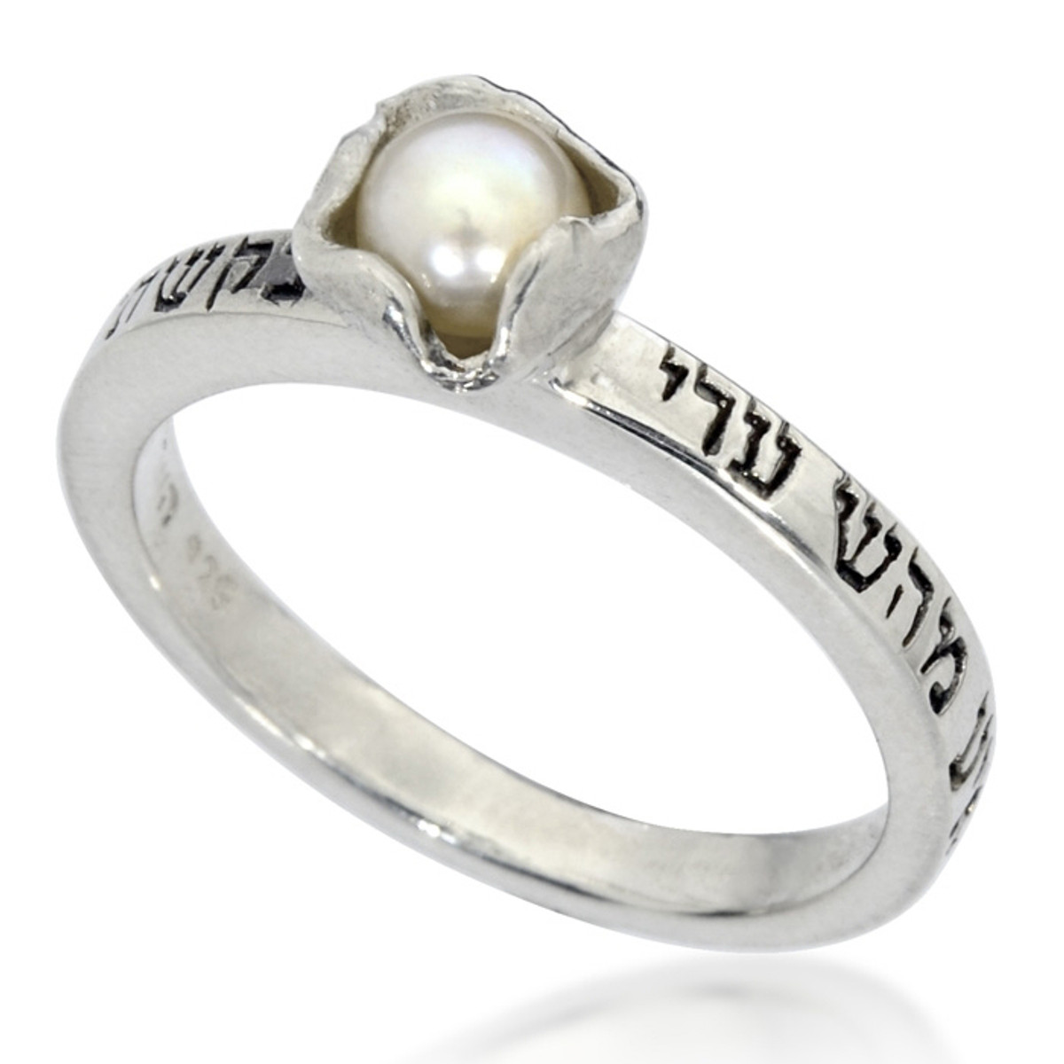 Silver HaAri Kabbalah Ring for Love and Blessing  ring by Haari Kabbalah Jewelry