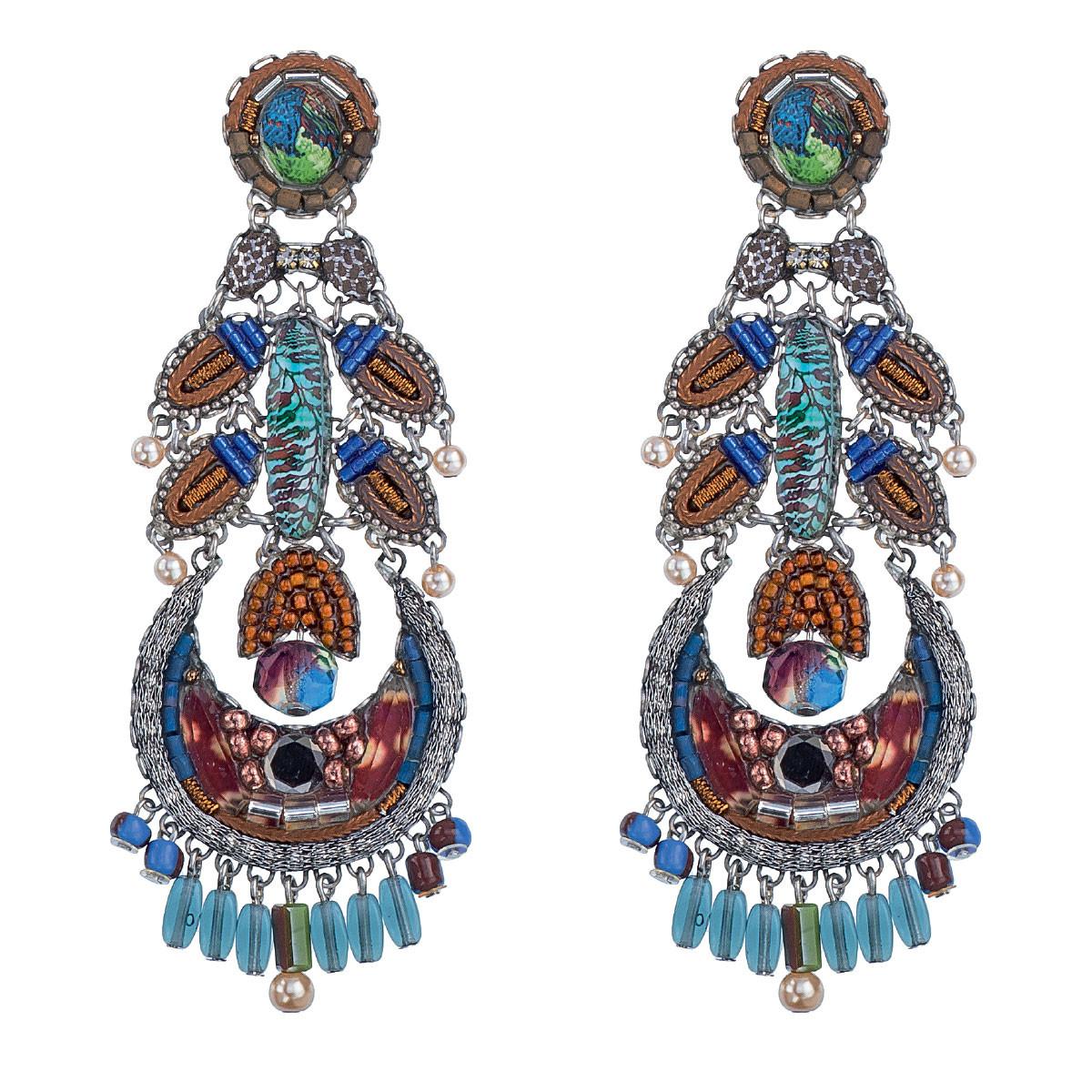 Pine earrings by Ayala Bar Jewelry