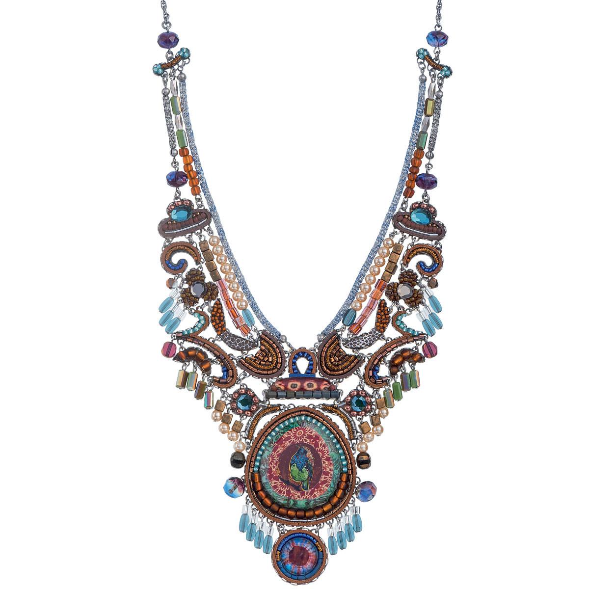 Ayala Bar Gold Pine Necklace