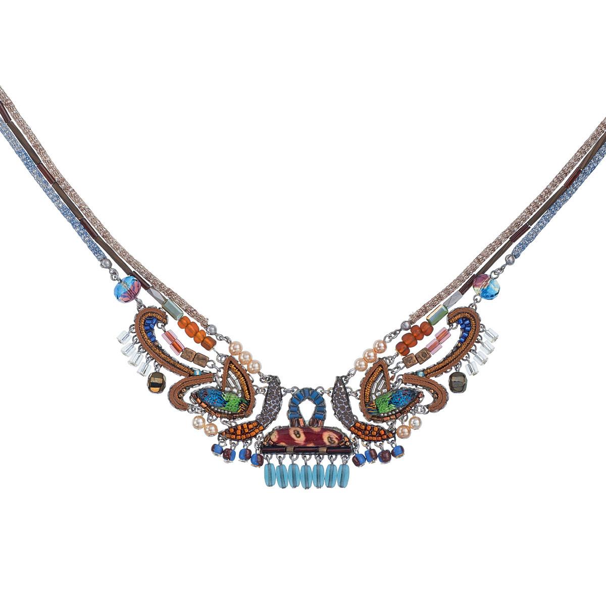 Gold Pine necklace by Ayala Bar Jewelry