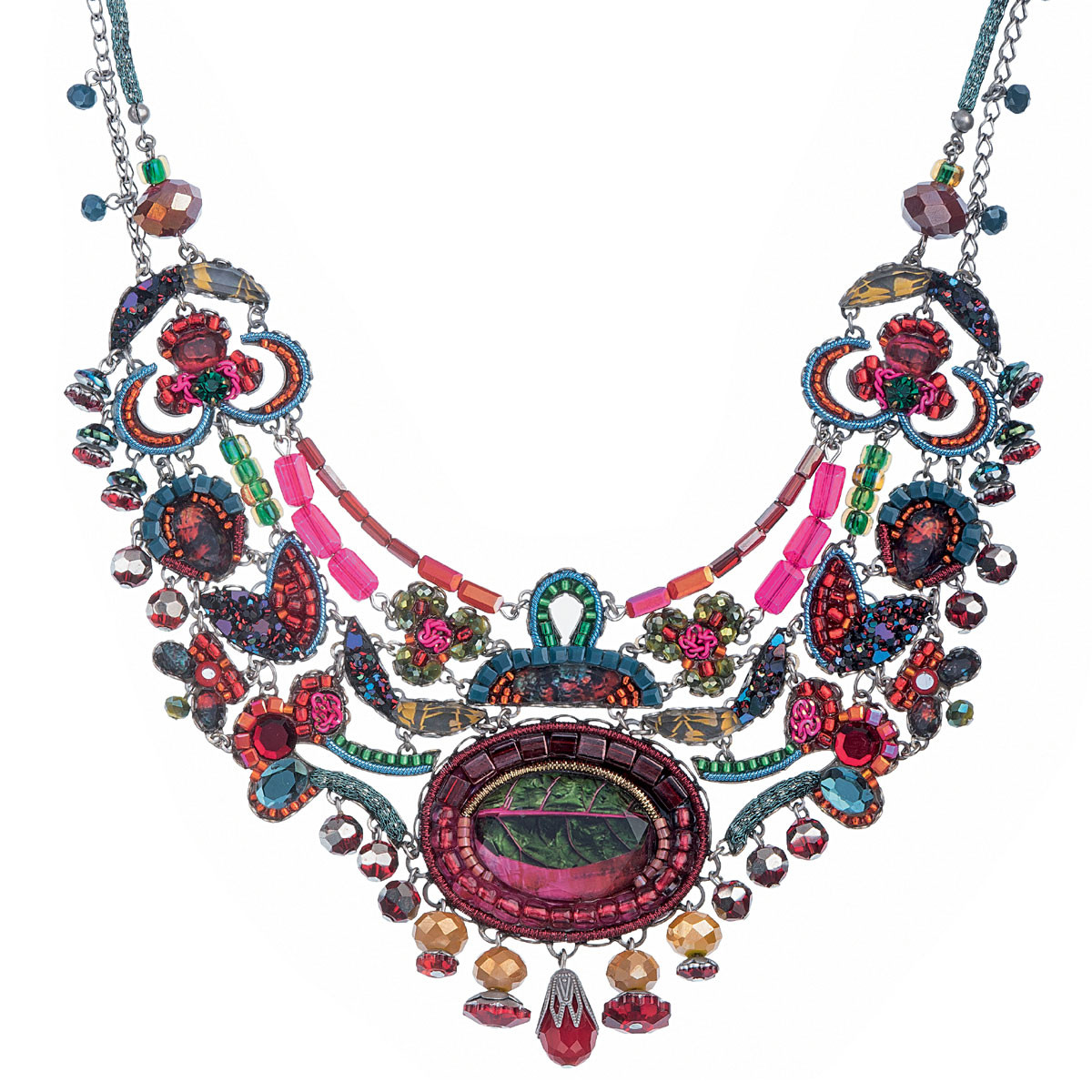 Pink Ayala Bar Jewelry Rowan Necklace