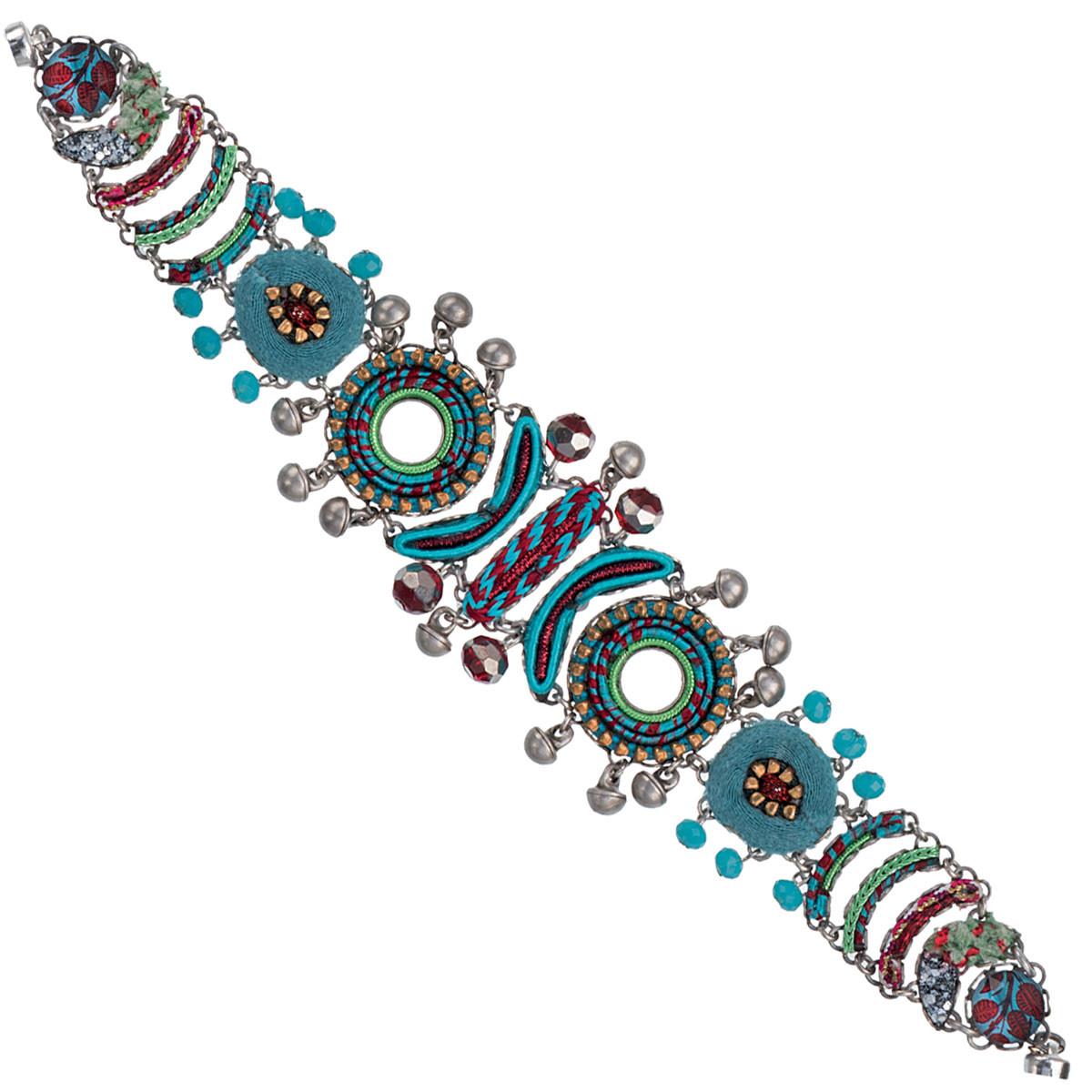 Green Ocean Drift style bracelet by Ayala Bar Jewelry