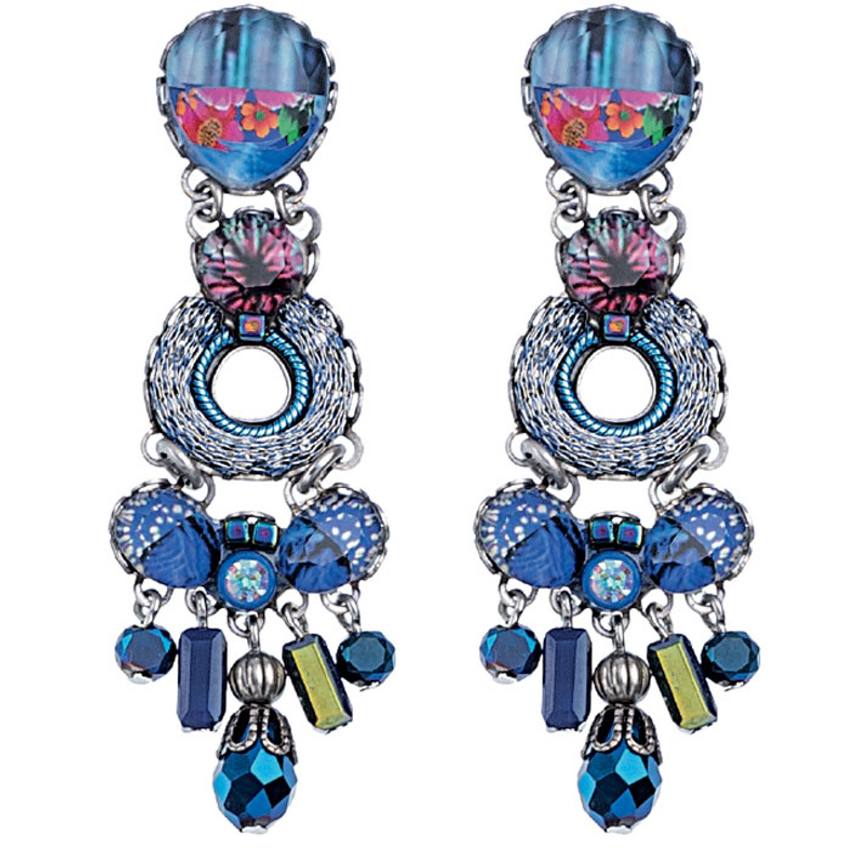 Blue Ayala Bar Jewelry Insight Earrings