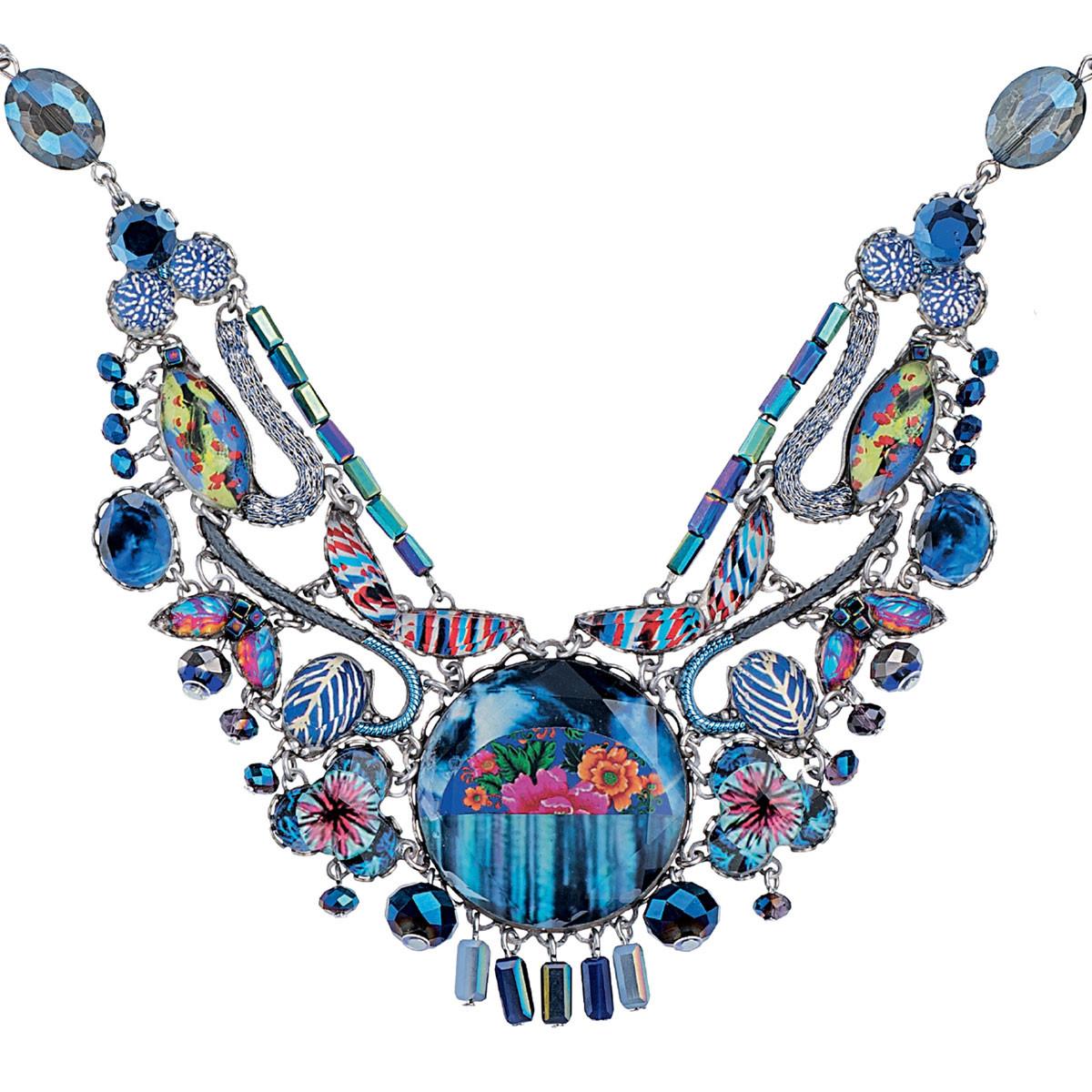 Blue Insight necklace by Ayala Bar Jewelry