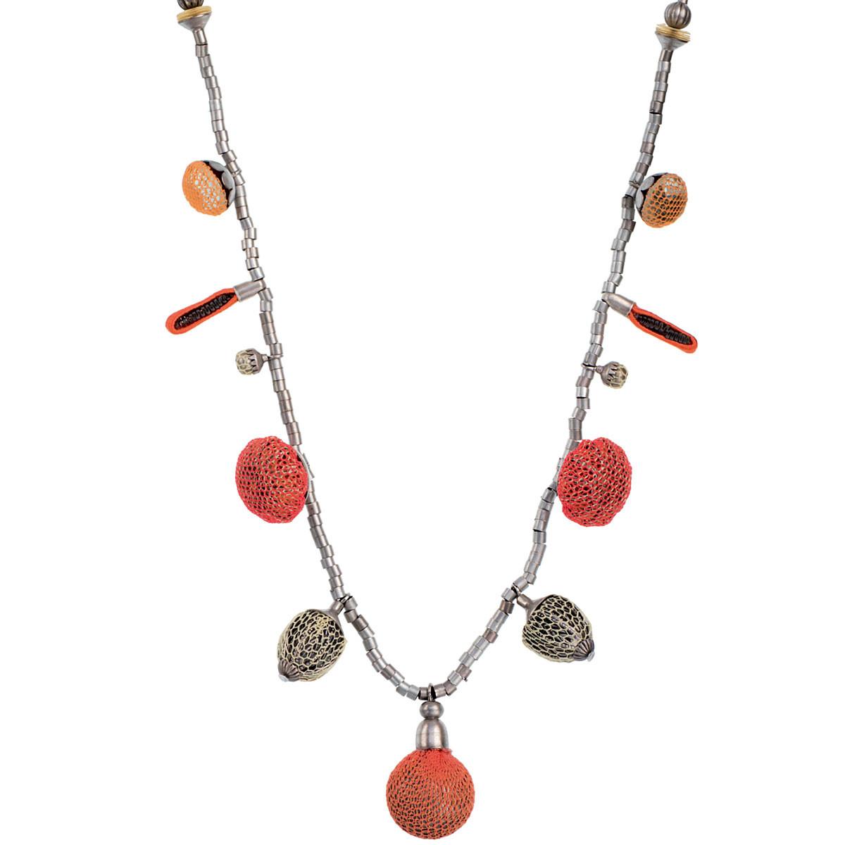 Ayala Bar Orange  Necklace